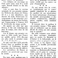 «Des affinités entre Boylesve et Proust»