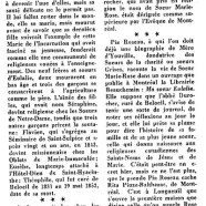 «L'incroyable histoire d'Eulalie Durocher»
