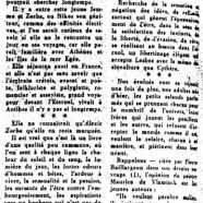 """«Mme Maheux-Forcier et son """"Amadou""""»"""