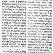 «Le long périple de Cocteau vers la simplicité»