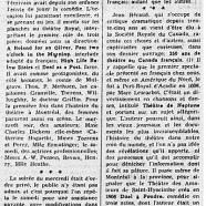 «Jean Béraud raconte l'histoire du théâtre au Canada-Français»