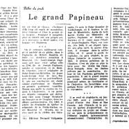 «Le grand Papineau»