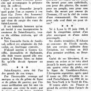 «Saint-Exupéry et la Terre des hommes»