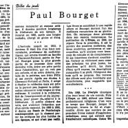 «Paul Bourget»