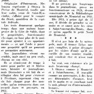 «Timide et féconde carrière de Léo-Paul Desrosiers»