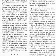 «Lucien Rainier, qui fut prêtre et poète»