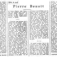 Pierre Benoît»