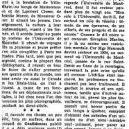 «Des confidences de Mgr Olivier Maurault»