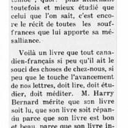 """«""""La ferme des pins"""" roman par Harry Bernard»"""