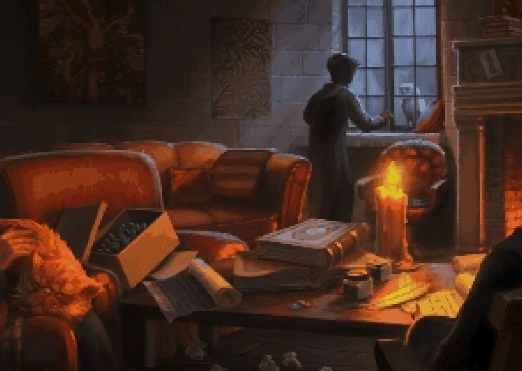 Studying In Gryffindor Common Room Audio Atmosphere