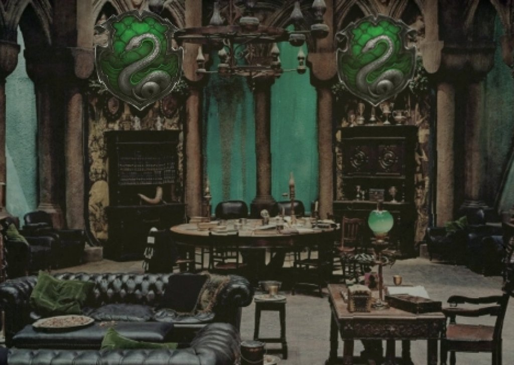 Common Room Of The Slytherin Students Audio Atmosphere