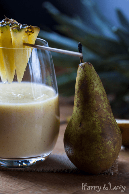 Quick And Easy Pineapple Pear Smoothie Recipe Harry Amp Lexy S Workshop