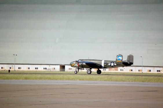 B-25 at Moffett Field, CA