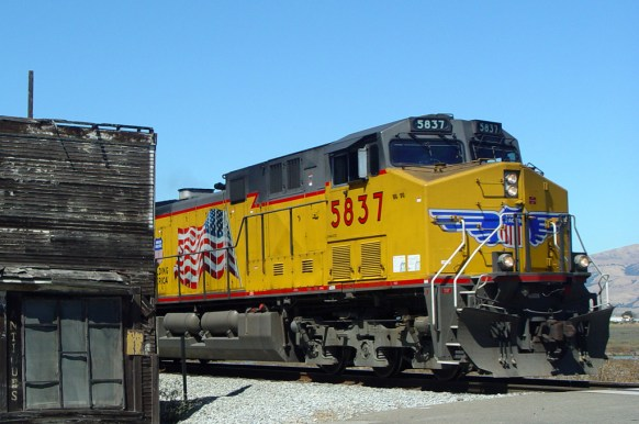 Union Pacific at Alviso, CA