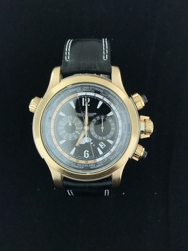 Harry Glinberg Watches - Jaeger-LeCoultre Chronograph