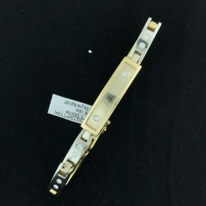 Harry Glinberg Jewelers - 18K Gold Bracelet with Diamonds
