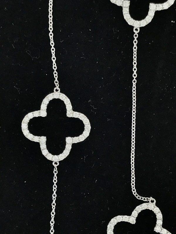 Diamond Clover Necklace