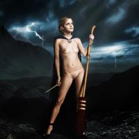 Who cares about lightnings and storm when there is nude Hermione Granger!?
