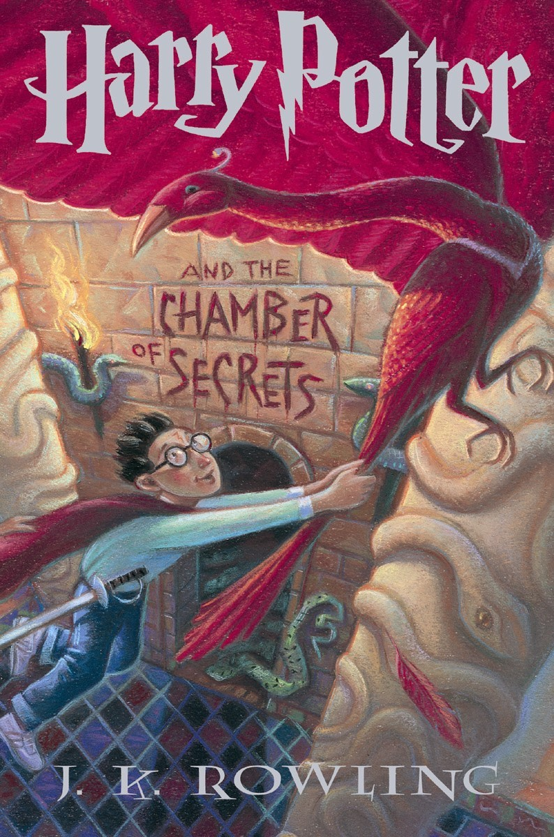 Image result for harry potter chamber of secrets book cover