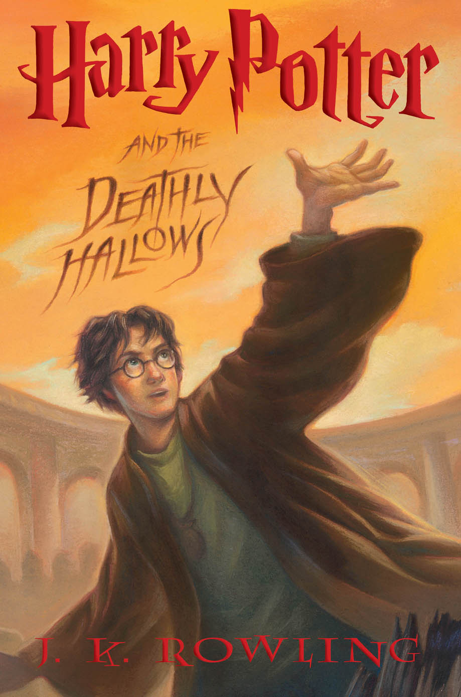 Image result for the deathly hallows book cover