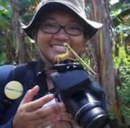 "Meet Marsya of our Social Media team! She says, ""I love contributing to yaki conservation, because we are in one circle of life."""