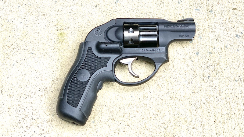 Ruger LCR 22 Right Overhead