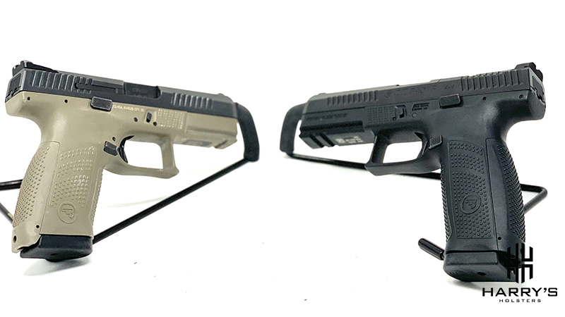 A photo of both CZ guns