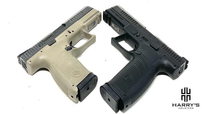 CZ P10f vs CZ P10c