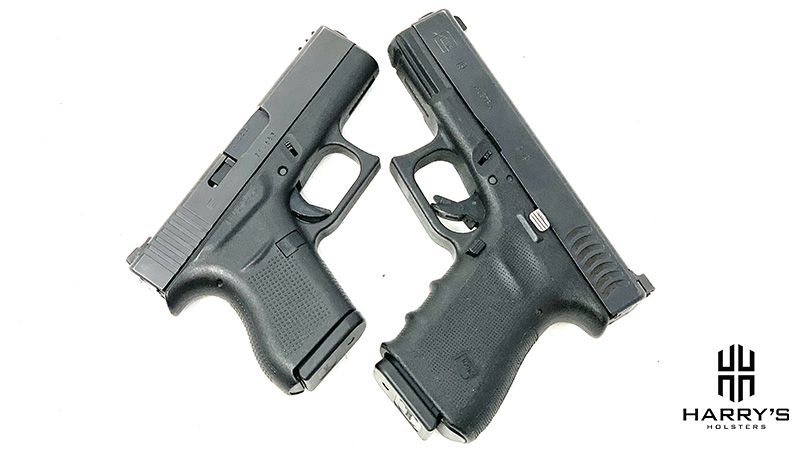 Glock 19 vs Glock 43 X