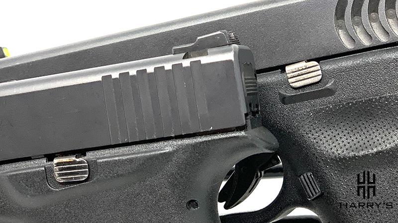 Glock 19 vs Glock 43 controls