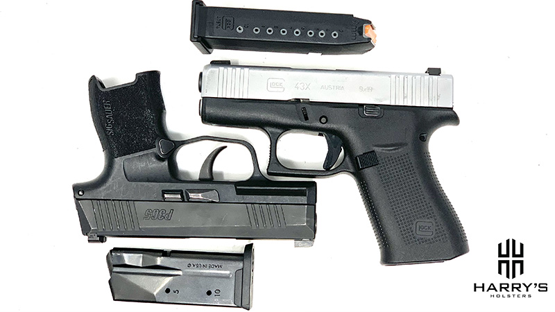 Glock 43x vs Sig P365 Square