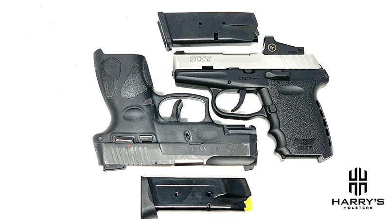 Sccy CPX2 vs Taurus G2 05