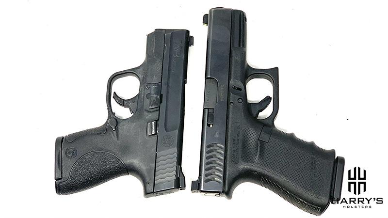 Glock 19 vs SW Shield T