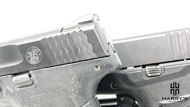 Glock 43 vs SW Shield controls