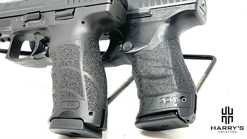 HK VP9 vs Walther PPQ grips