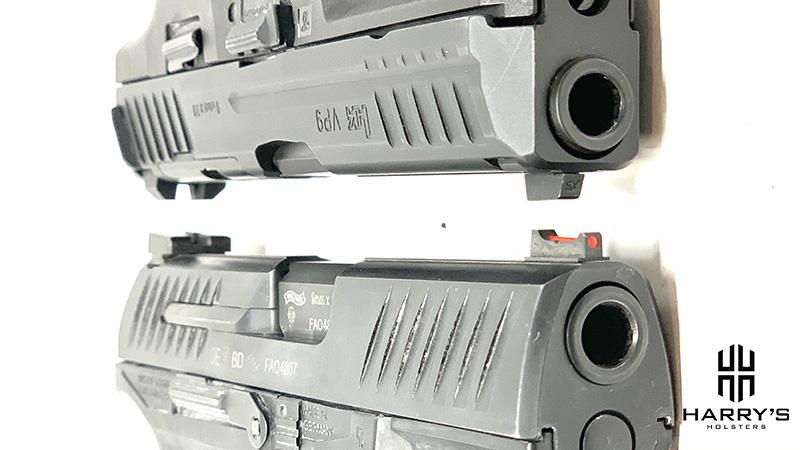 HK VP9 vs Walther PPQ slides