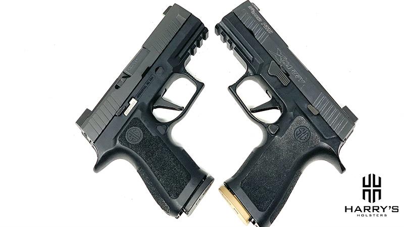 Sig P320 X Carry vs Sig P320 X Compact X