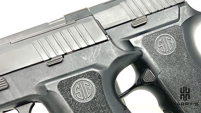 Sig P320 X Carry vs Sig P320 X Compact controls