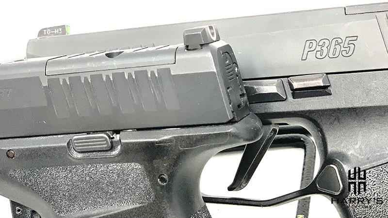 Sig P365XL vs Springfield Hellcat slide lock