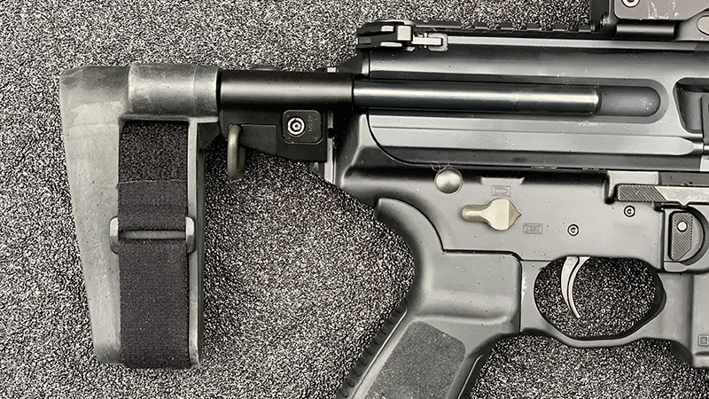 Sig MPX Brace Collapsed