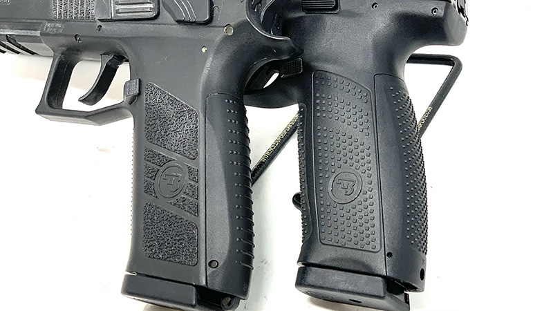 CZ P09 vs P10 Grips