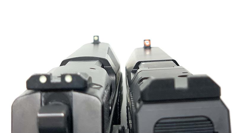 CZ P09 vs P10 Sights