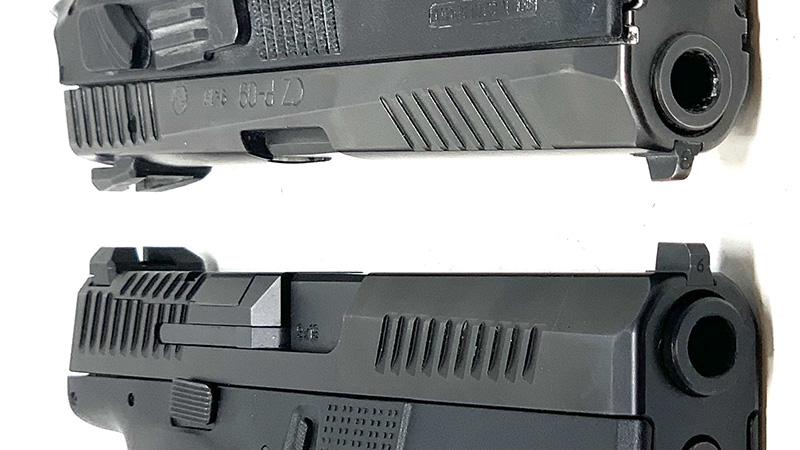 CZ P09 vs P10 Slides