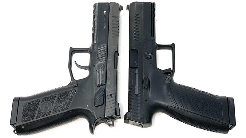 CZ P09 vs P10 T