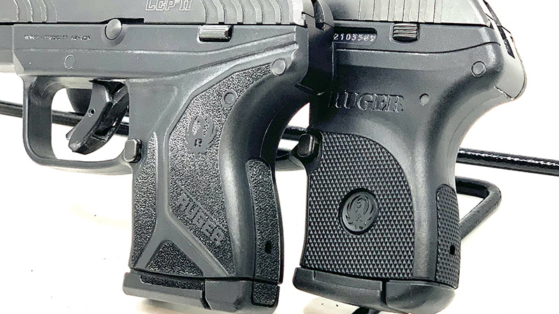 Ruger LCP vs LCP 2 Grips