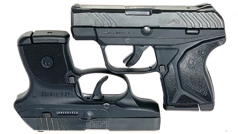 Ruger LCP vs LCP 2 Square