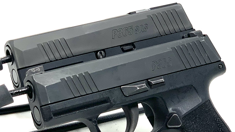 Sig P365 SAS vs P365 Cover