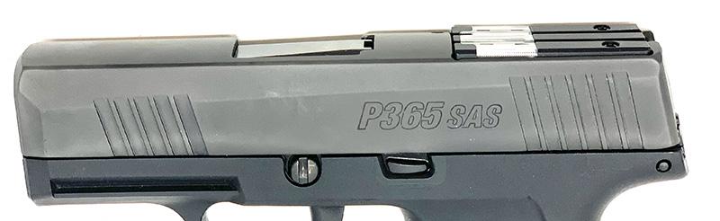 Sig P365 SAS vs P365 P365 SAS slide