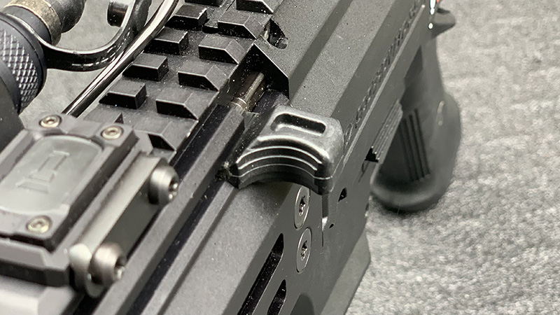 CZ Scorpion Micro Charging Handle rear