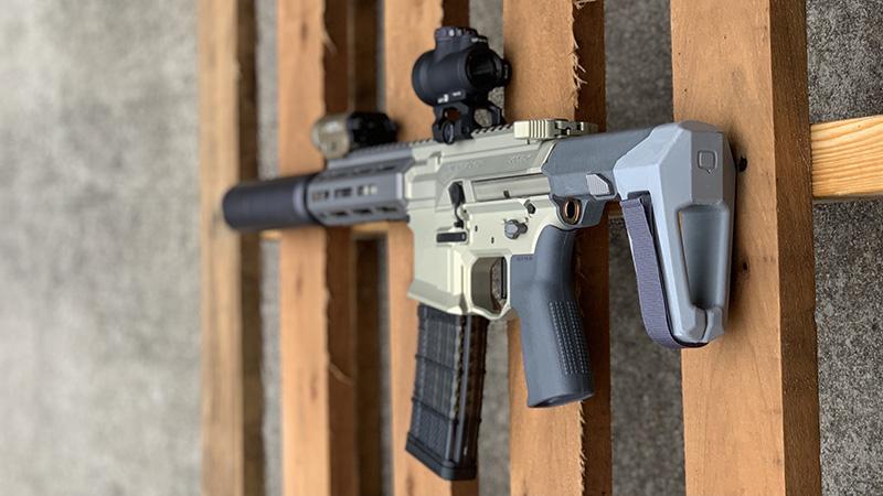 Honey Badger Pistol Angle Pallet 1